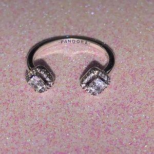 Pandora silver open ring